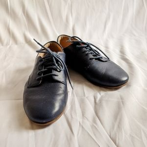 Fliptop Tomboy Oxford Leather Lace Up Derbies